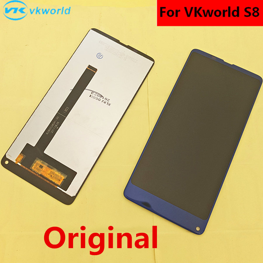Original For VKworld S8 LCD Display Touch Screen Tools Digitizer Assembly Replacement Accessories For Phon 5