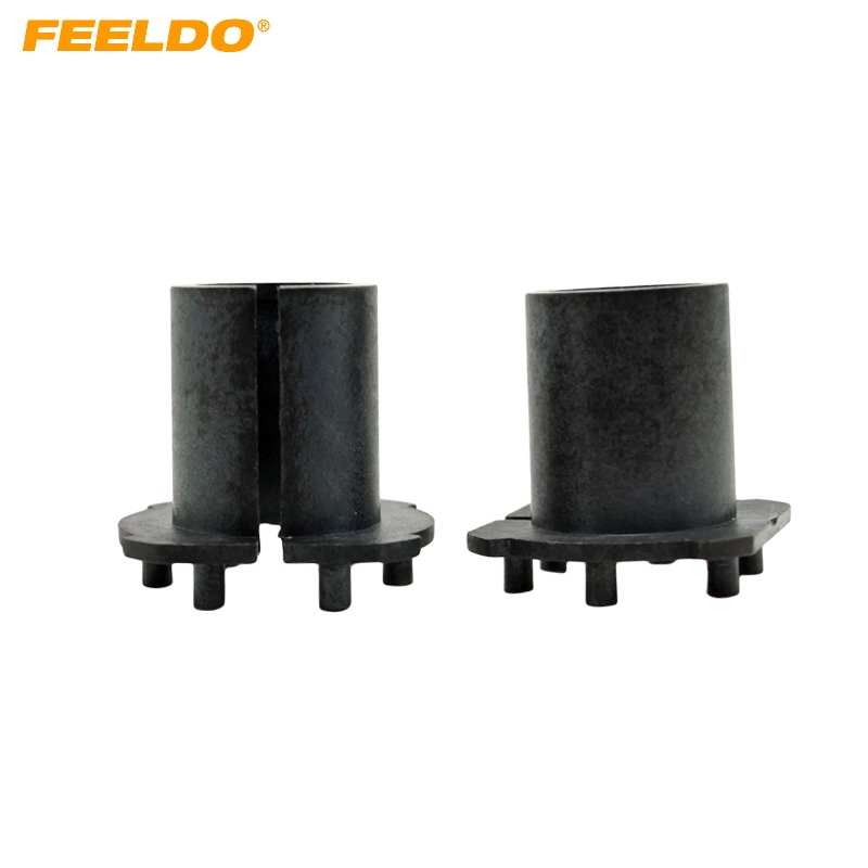 FEELDO 2pcs Car H7 HID Xenon Bulbs Installation Socket Adapter Holder For Mazda New 3/5/6/MX-5/CX-7/RX-8 Bulb Adapter #CA1368FEELDO 2pcs Car H7 HID Xenon Bulbs Installation Socket Adapter Holder For Mazda New 3/5/6/MX-5/CX-7/RX-8 Bulb Adapter #CA1368