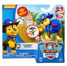 Original box 6 kinds Paw Patrol Hero Pup Cowboy chase marshall rocky Rubble skye zuma action figure children toy Birthday gift