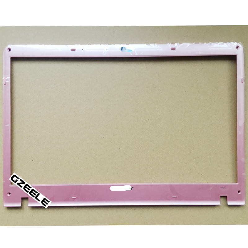 New For Sony Vaio VPC-EL Series LCD Front Bezel 41.4MQ08.002 414MQ08002 B pink