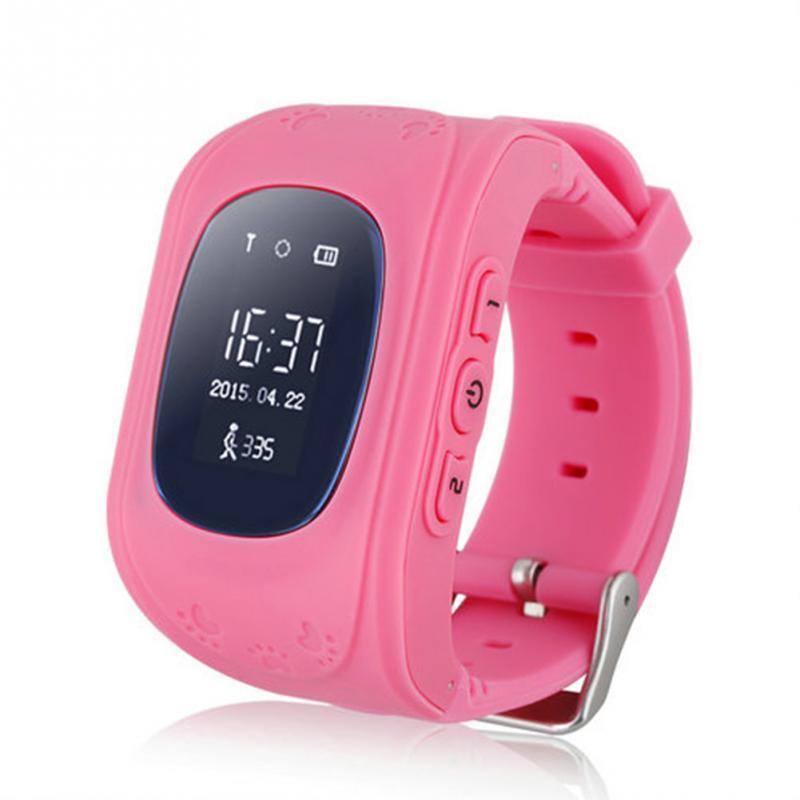 imágenes para Smartband Q50 GPS Niños Regalos de Navidad reloj Inteligente Reloj GPS Posición y Llamada Bidireccional y SOS Comunicador Para IOS Android teléfono