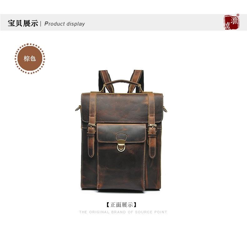homens do vintage mochila mulheres Tipo de Mochila : Livro de Bolso