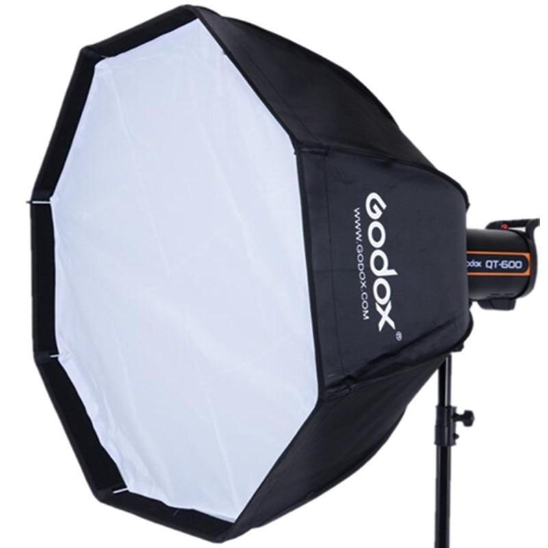 Octagon Umbrella Speedlite Softbox: Godox UE 120CM Softbox Professional Portable Octagonal