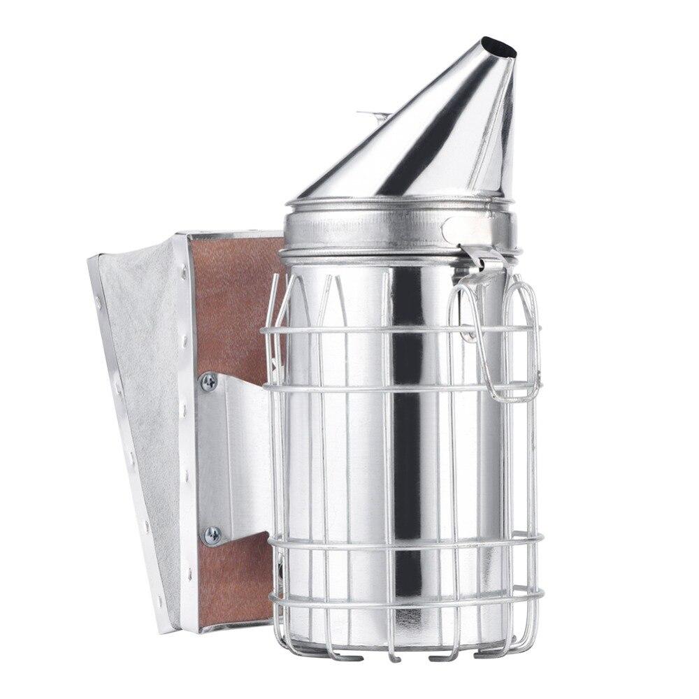 Bee Shield Hive Smoker Heat Equipment Stainless Steel Beekeeping Smoke Tools NEW