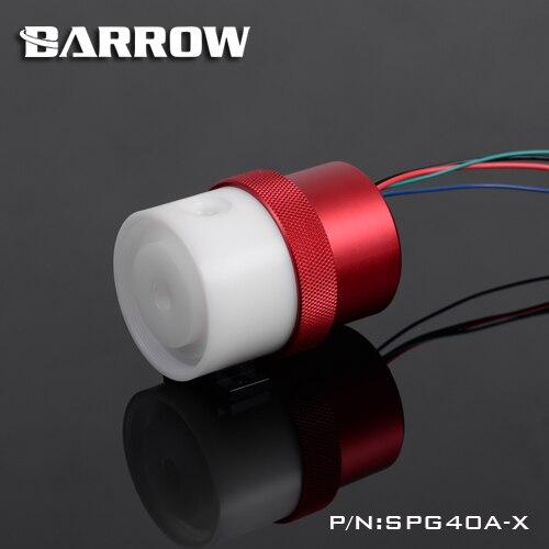 Brouette SPG40A-X, pompes 18 W PWM, débit maximal 1260L/H, Compatible avec les noyaux et composants de pompe de la série D5 - 4