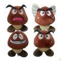 Super Mario Bros Goomba Плюшевые Куклы Плюшевые Игрушки 5 стилей выбрать НОВЫЕ Плюшевые Игрушки Фигурки Игрушки