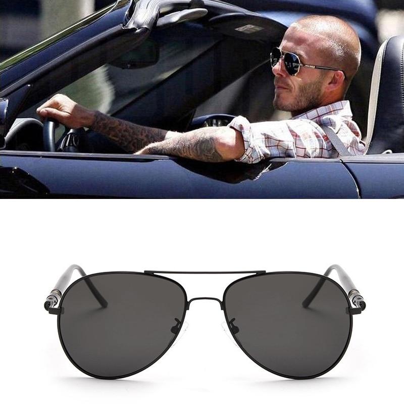 Classic Polarized Metal Frame Sun Glasses Brand Design Oversized Spring Vintage Men Women Sunglasse