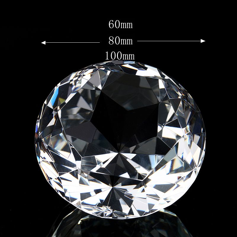 Super Big Quartz Crystal Glass Diamond