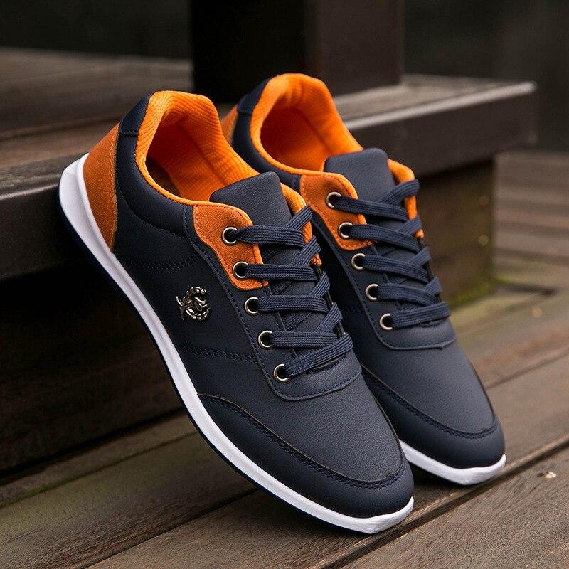 Excelente Calidad de la manera de LA PU de Cuero Zapatos de Hombre Nuevo Estilo