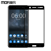 Nokia 6 Glass Tempered 2017 New MOFi Original Full Cover Nokia6 Screen Protector Android 7 Glass