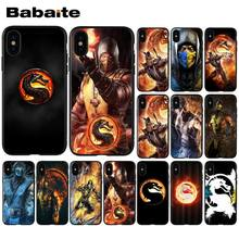 Babaite Mortal Kombat TPU Zachte Siliconen Phone Case Cover voor Apple iPhone 8 7 6 6S Plus X XS MAX 5 5S SE XR Mobiele Telefoons(China)