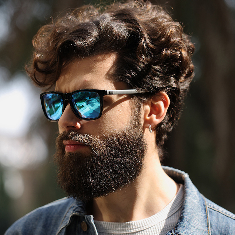 LVVKEE Fashion 2018 HD Polarized Sunglases Men Luxury Brand Designer - Киімге арналған аксессуарлар - фото 2