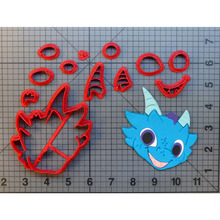 Cartoon Character Shimmer and Shine Cookie Cutter Cake Decorating Tools Custom 3D printed Tool Baking Mould Mold