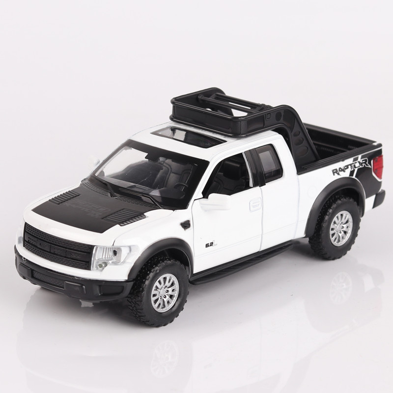Double-Horses-132-High-Simulation-Model-Toys-Car-Styling-Ford-F150-Raptor-Pickup-Trucks-Alloy-metal-Car-toys-for-children-gift-3