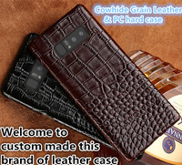 LJ04 Genuine Leather With PC Hard Cover Case For Xiaomi Redmi Note 4X Phone Case For