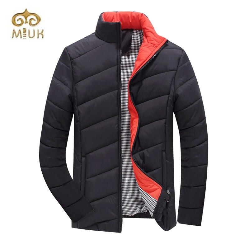 Winter Big Size 3XL Solid Stand Collar Cotton Men Jacket Homme Hiver Marque Brand Clothing Erkek Coat bert pulitzer men s big textured solid sport coat