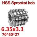 6 35x3 3 Высокое качество HSS-M2 Звездочка варочная панель 70x60x27 мм Внутреннее отверстие 1 шт. Бесплатная доставка