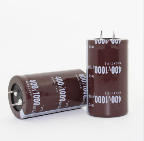 28PCS-2PCS 400v 1000uf 1000uf 400v1000uf Electrolytic Capacitor Volume 35*60MM Best Quality