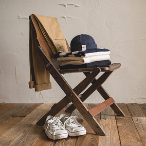 Image 4 - MADEN mens and womens adjustable denim beanie skull cap dockworker hat roll cuff sailor hat male