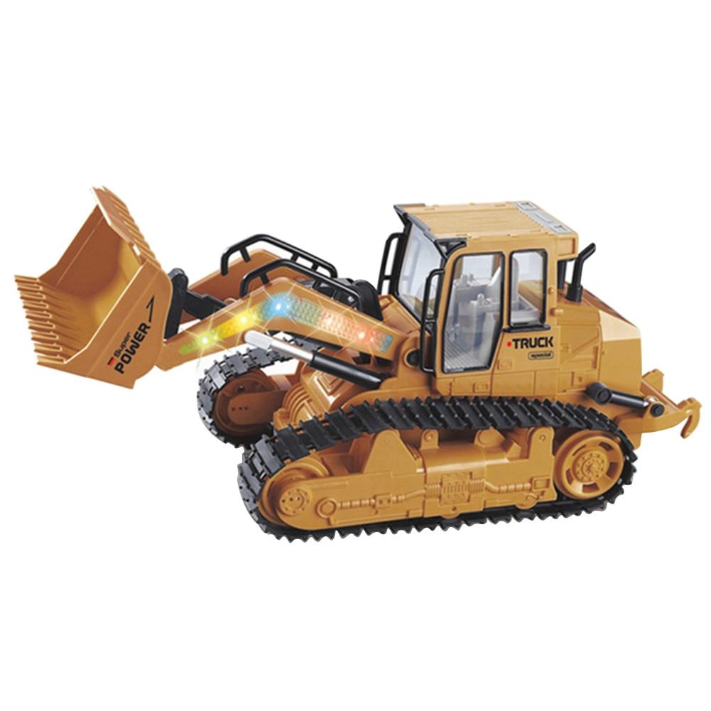 Bouw Kinderen Model Afstandsbediening Bulldozer Simulatie Techniek Voertuig Geschenken Opladen Rc Vrachtwagens Speelgoed Auto 's Vouw-Weerstand
