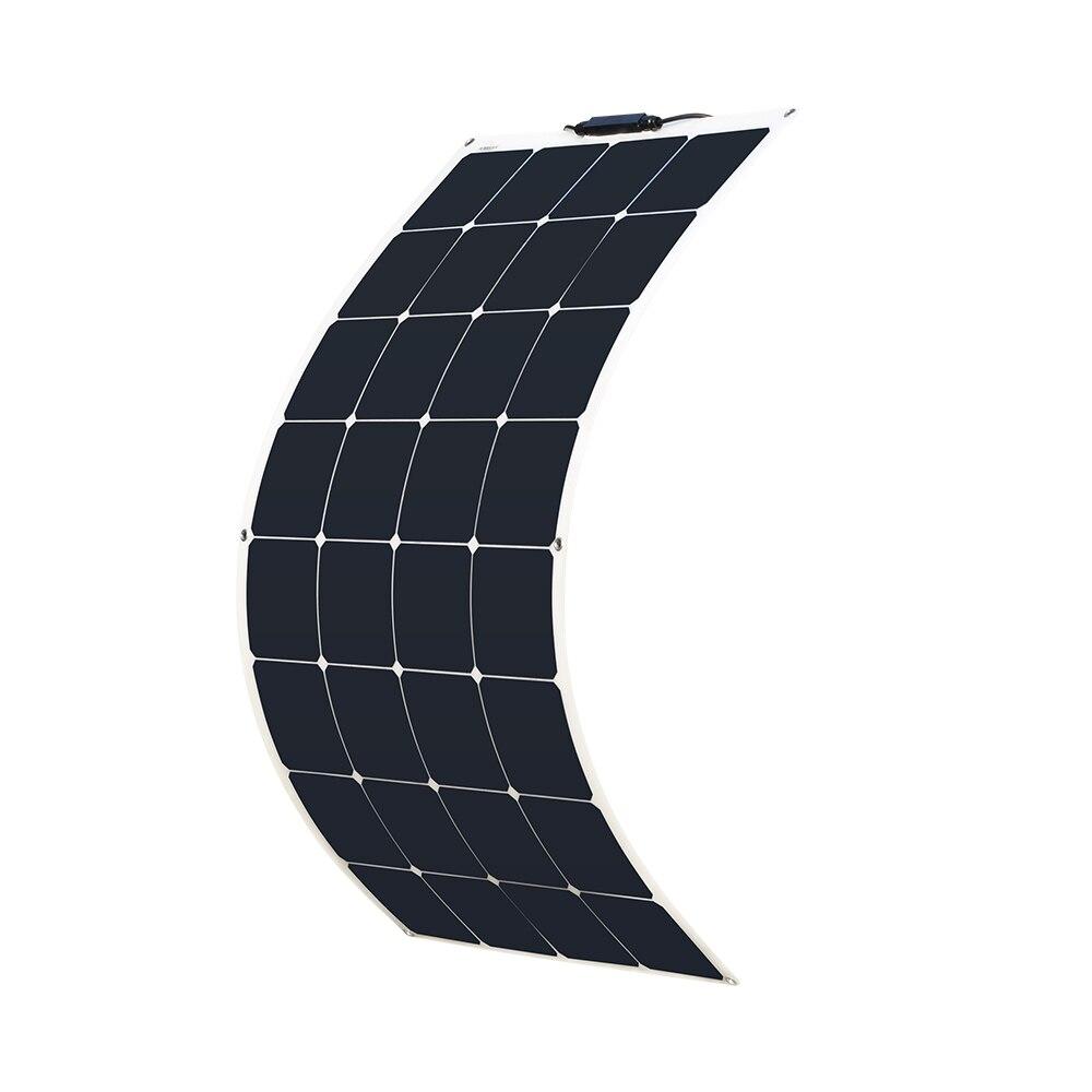 XINPUGUANG 100W 18V ou 16V flexível painel solar celular 100 watt Monocristalino módulo painel solar 12V carregador caravana campista