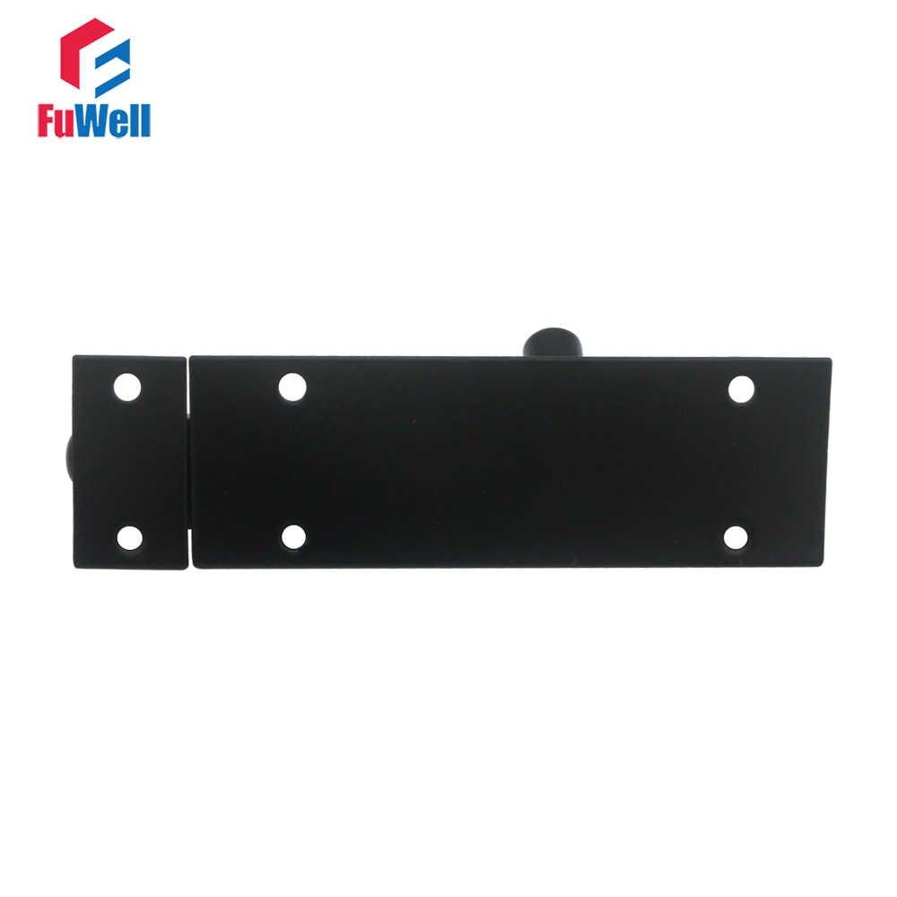 Black Barrel Bolt 2/3/4/5/6/8inch Aluminum Alloy Door Latch Hardware for Home Gate Safety Door Bolt Latch Lock