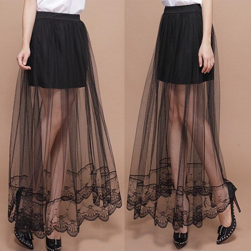 2017 apriete diseño largo femenino perspectiva falda de cola de ...