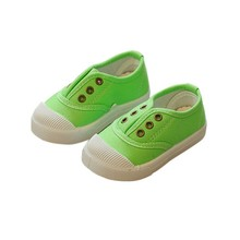 Spring Autumn Fashion Kids Shoes Girls Boys Sneakers Candy Color Kid Canvas Sport