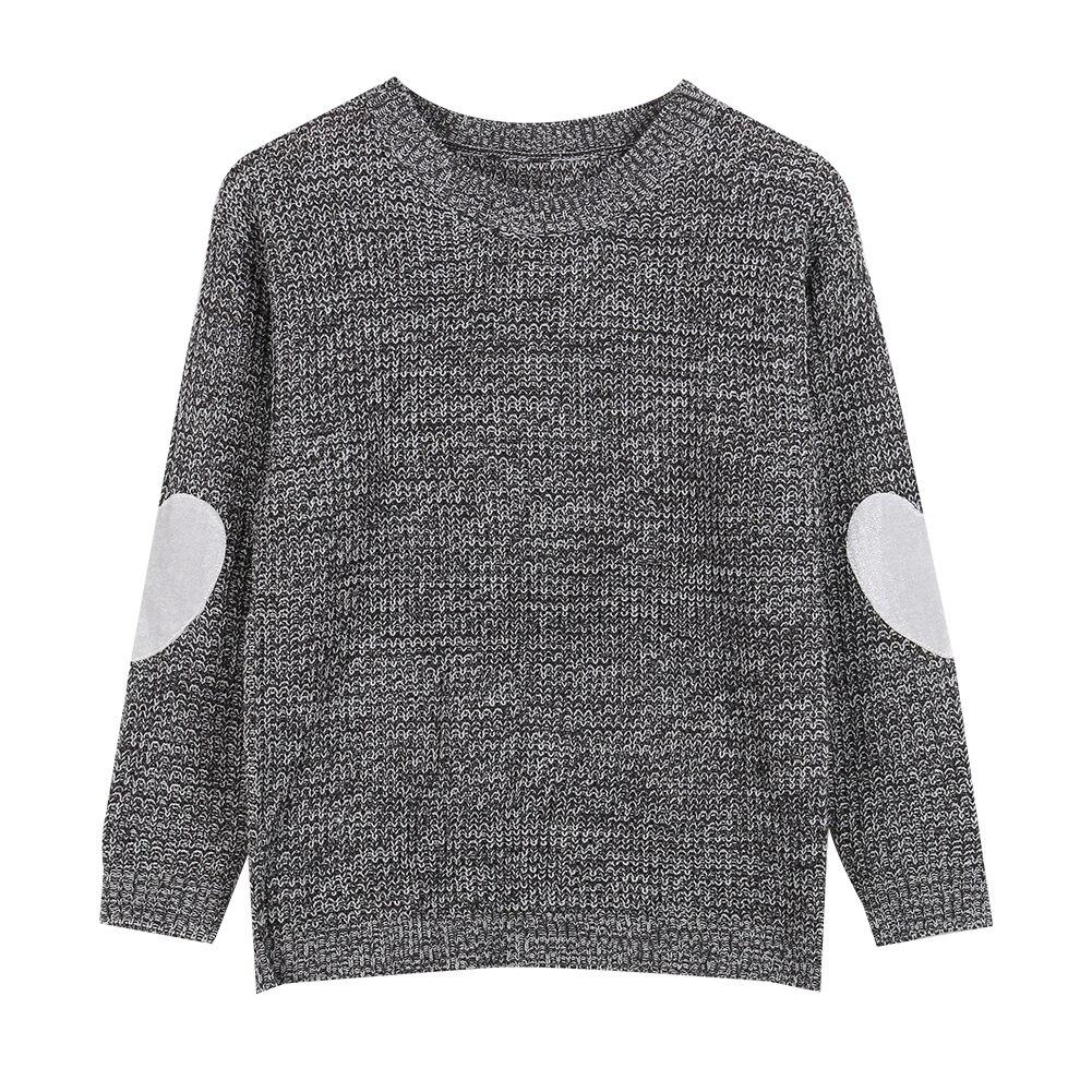 Winter Women Long Sleeve Love Heart Knitted Sweaters Grey Pink ...
