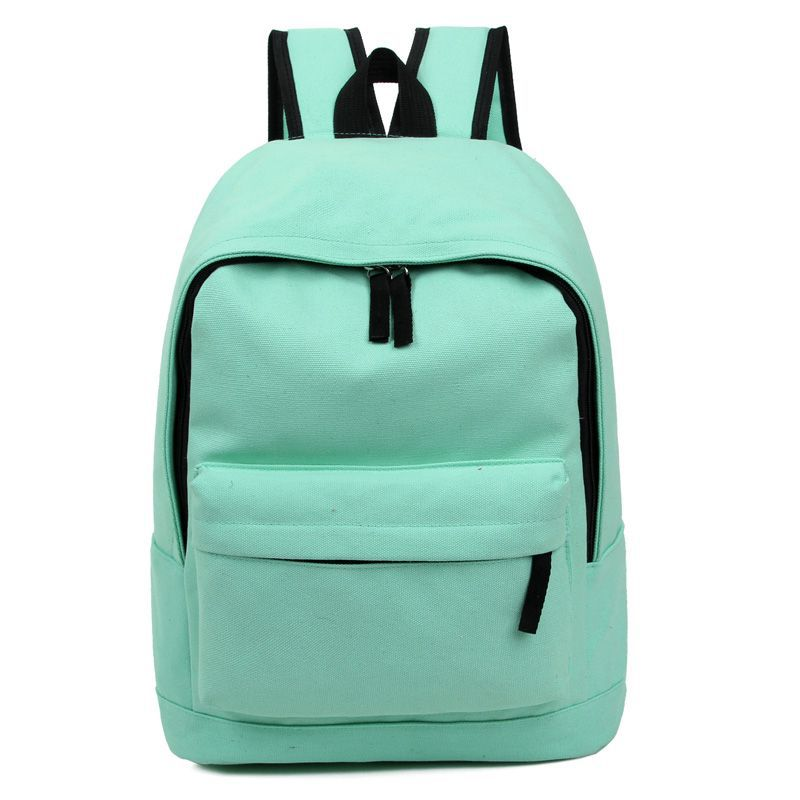 New 2017 Fashion Women's Canvas Backpacks Simpl Men Student School Bags For Girl Boy Casual Travel Simple Color Bags Girl msmo 2017 new kpop exo canvas backpack sacks women men student school bags for girl boy casual travel exo bags