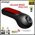Car DVR Wifi Car Camera Auto DVRS Dash Cam Video Recorder Blackbox G-Sensor Night Vision Novatek 96658 Full HD 1080P Sony Lens