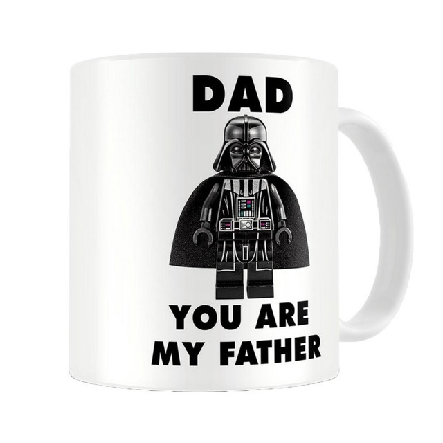 Star Wars Mugs Darth Vader Gift Cups Dad You Are My Father Coffee
