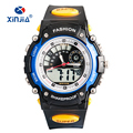 New Men's relogio masculino dual display casual children sports watches 5 atm water resistant analog digital Japan movement