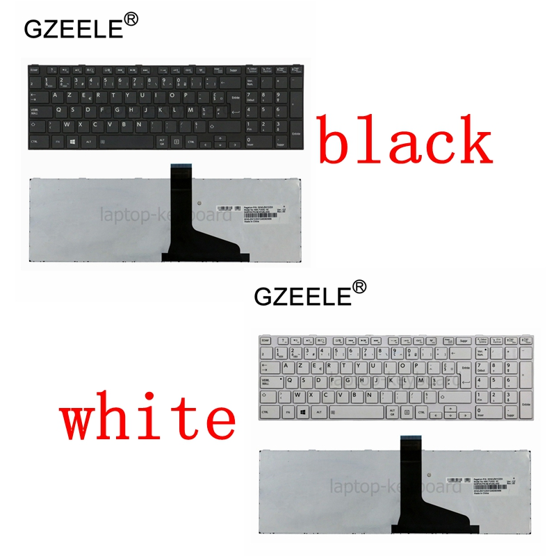 GZEELE French Keyboard For TOSHIBA S870 S875 S855D S955 S955D L850 L850D P850 L855 C875 C875D L875 L875D L950 L950D AZERTY FR