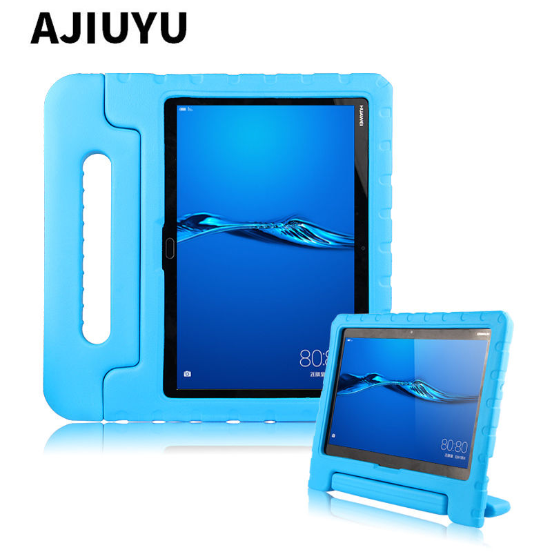 Child Tablet Shockproof case For Huawei MediaPad M3 Lite 10 10.0 Silicone Cover For BAH-W09 BAH-L09 BAH-AL00 10.1 inch EVA Case silicone with bracket flat case for huawei mediapad m5 8 4 inch