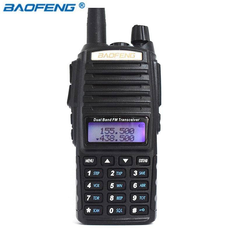 Портативный Радио Baofeng UV-82 5 Вт Двухканальные рации любитель Радио pofung Портативная радиостанция УФ 82 радиолюбителей Бесплатная двойной PTT гарнитура