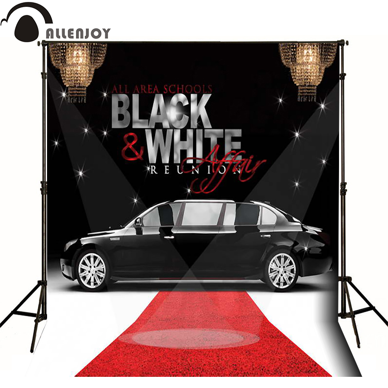 Red Carpet Chandelier: Allenjoy Photographic Background Black And White Luxury