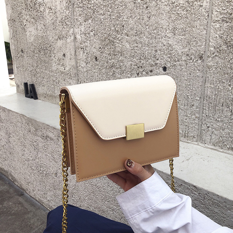 Mano Bag Piccolo Catena Borse Nero Progettista Il B089 bianco Borsa 2019 Ragazze cachi Del Delle Con Donne Flap Spalla Frizione Per Della D'oro A Tracolla Le Giorno aq8daxw