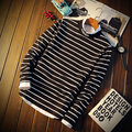 New Brand hoodies Men Sweatershirts Autumn Winter High Quality Men's Full Long Sleeve Doublelayer Kintwear Pullover stripe TT643
