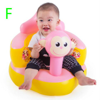 Fashion Thickened Bath Stool Multi-functional Portable Baby Sofa Seat Baby Sofa Chair Inflatable Sofa T01 chaise gonflable pour bebe