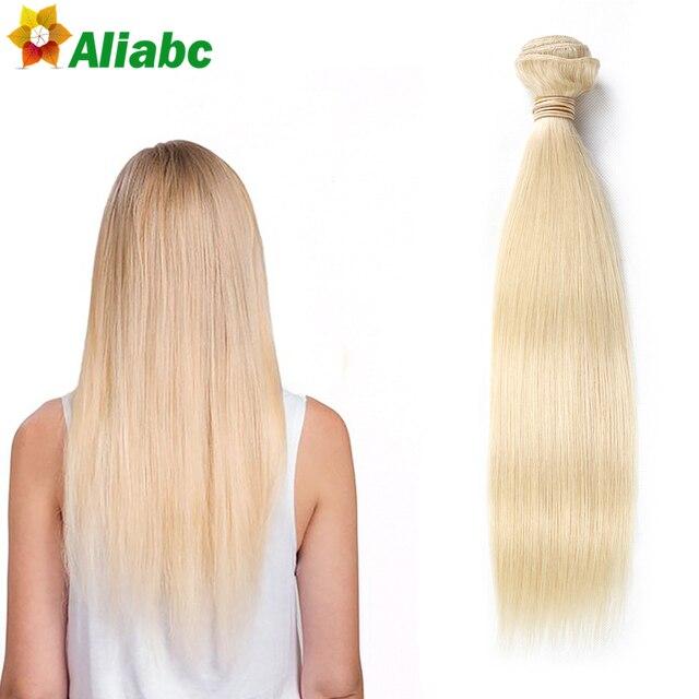 Honey Blonde Russian Hair Weave 613 Blonde Virgin Hair 1pcslot
