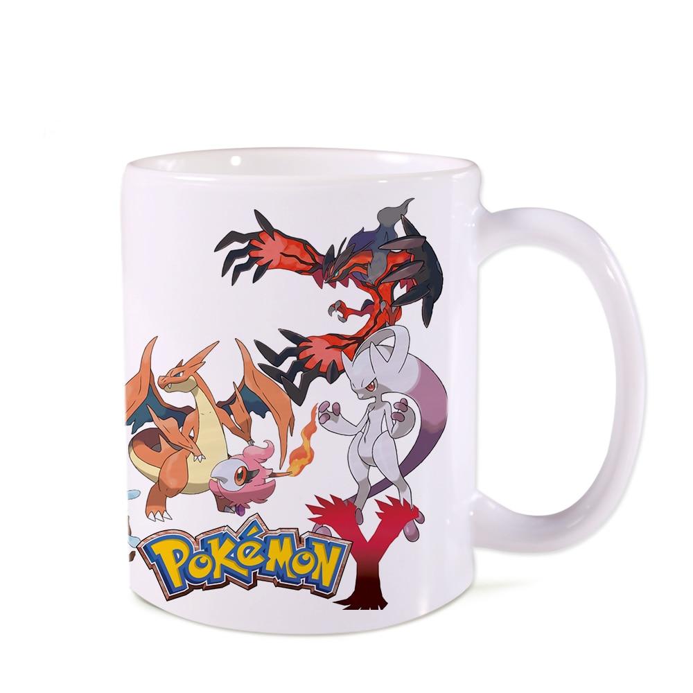 Free shipping unicorn Mugs Coffee Mug car Cups pokemon Funny Creative cups Coffee Tea Milk Ceramic swig cup 350 ML surprise gift