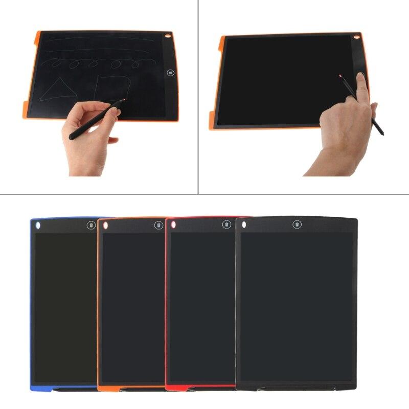 12 дюймов ЖК-дисплей записи Планшеты составления электронных Планшеты доска почерк площадку с Стилусы
