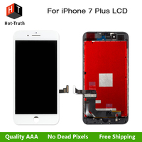 Hot Truth 10Pcs Lot Grade AAA Quality LCD Display For IPhone 7 Plus Touch Screen Digitizer