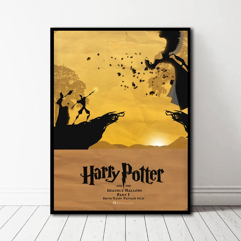 Harry Potter Minimalist Poster Film Picture Movie