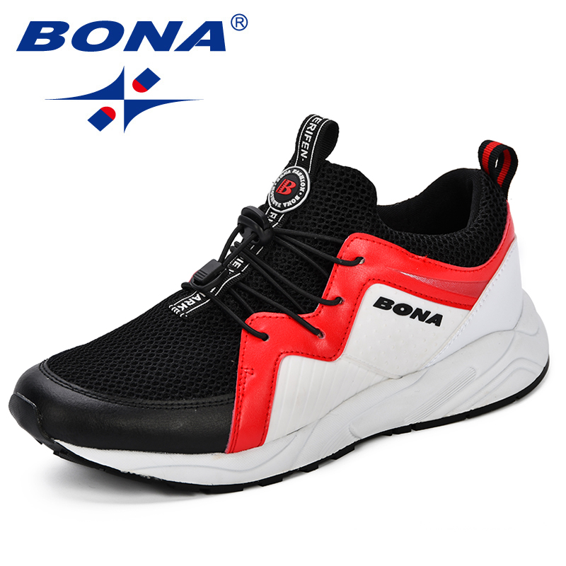 BONA Men Sport Shoes 2019 Brand Running Shoes Breathable Zapatillas Hombre High Quality Men Footwear Trainer Sneakers Outdoor hyfmwzs big size 39 47 high quality cheap running shoes for men sport shoes men sneakers soft and breathable zapatillas hombre