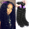 Malaysian Virgin Hair Deep Curly Bundles Malaysian Deep Wave Bundle Deals Bohemian Curly Hair Wet and Wavy Curly Wave Human Hair