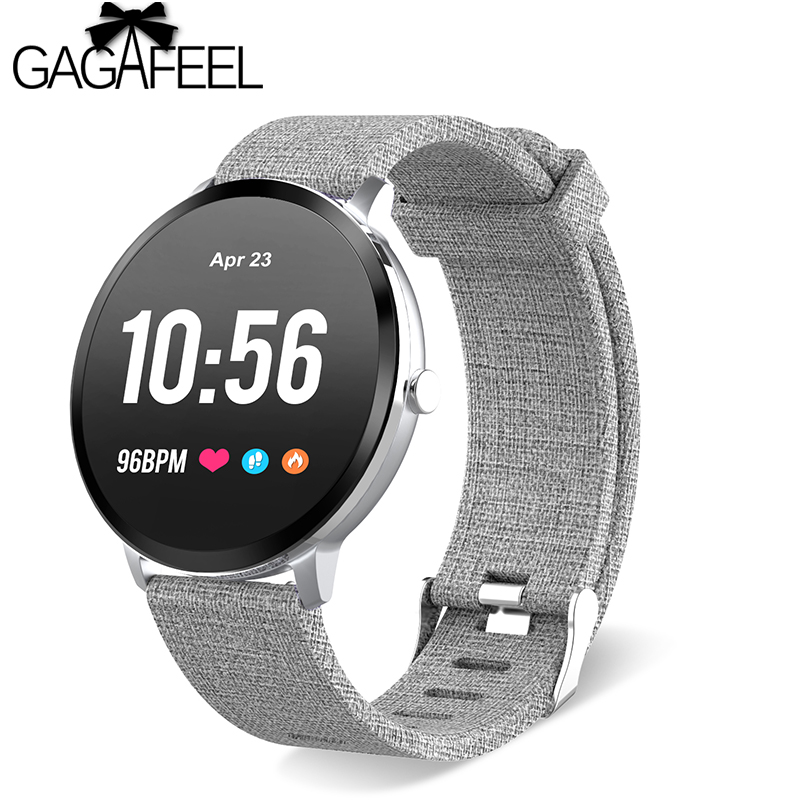 Gagafeel V11 Smart watch IP67 waterproof Tempered glass Activity Fitness tracker Heart rate monitor BRIM Men women smartwatch colmi v11 smart watch ip67 waterproof tempered glass activity fitness tracker heart rate monitor brim men women smartwatch