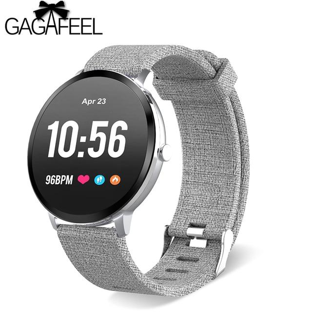 Gagafeel V11 Smart watch IP67 waterproof Tempered glass Activity Fitness tracker