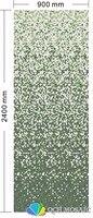 Керамика мозаика для украшения дома облицовки стен зеленый цвет постепенное изменения узор 900xH2400mm